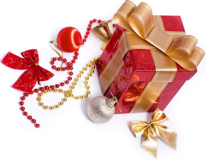 Xmas gift box  and decoration