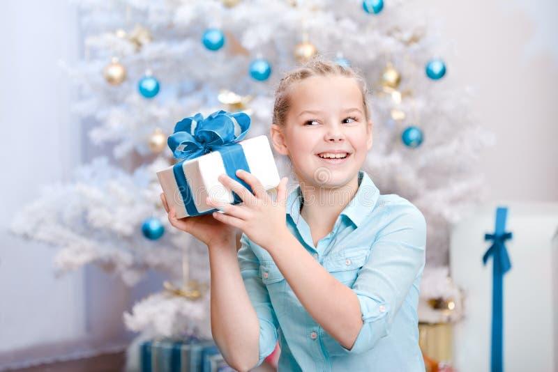 Download Xmas girl stock photo. Image of indoors, smiling, kids - 27676250