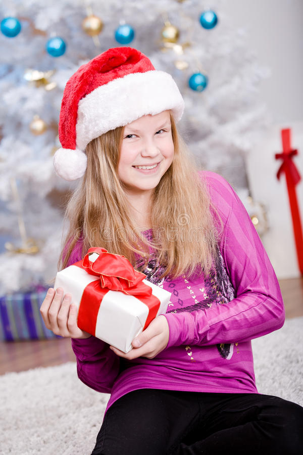 Download Xmas Girl Stock Image - Image: 27676321