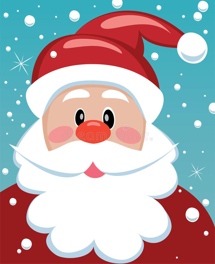 Download Xmas illustration of santa stock vector. Image of winter - 16970055