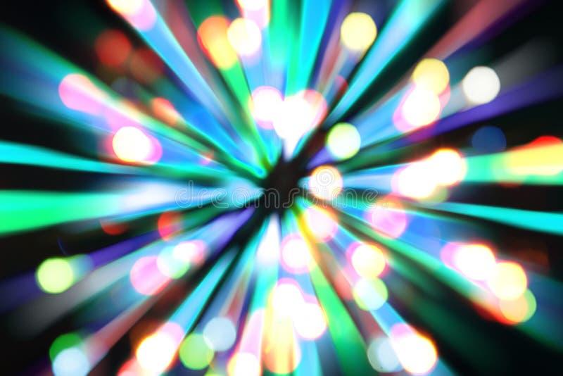 xmas lights background stock illustration