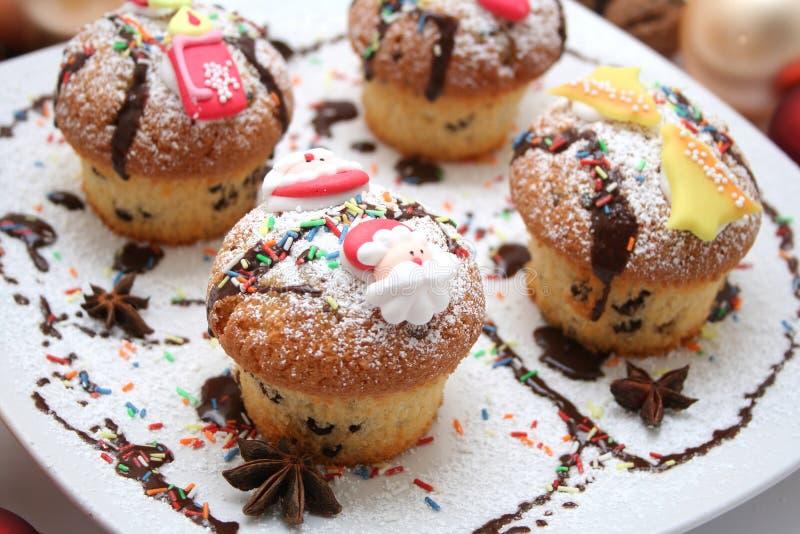 Download Xmas muffins stock photo. Image of sugar, colourful, xmas - 7110428