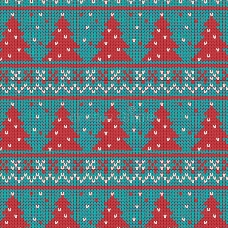 Download Xmas Ornaments - Seamless Knitted Background Stock Vector - Image: 33526370