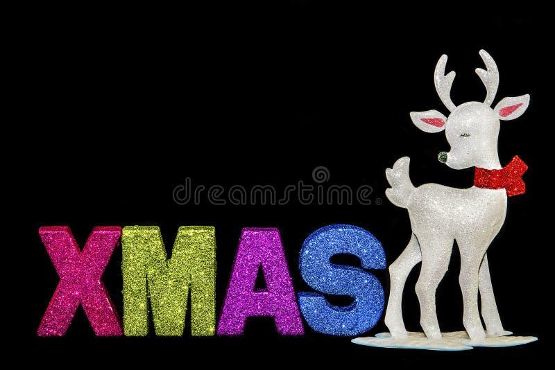 Xmas Reindeer stock photography