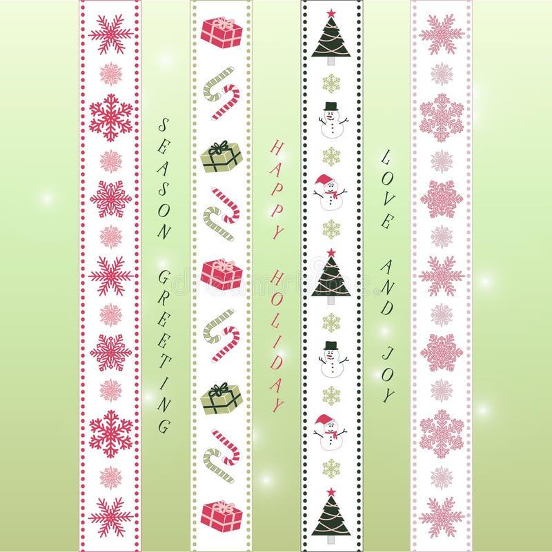 Free Xmas Ribbon Green Royalty Free Stock Image - 78978146