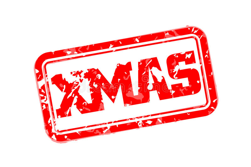Download Xmas Rubber Stamp Stock Vector - Image: 83717782