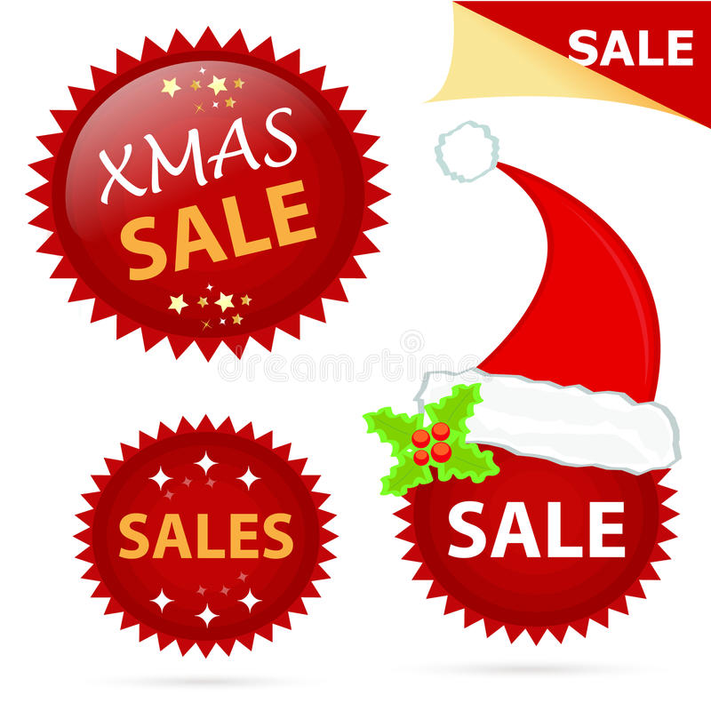 Download Xmas sale icons stock illustration. Illustration of christmas - 22235241