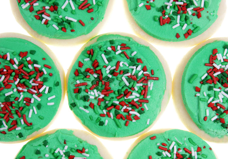 Xmas Sugar Cookies stock images