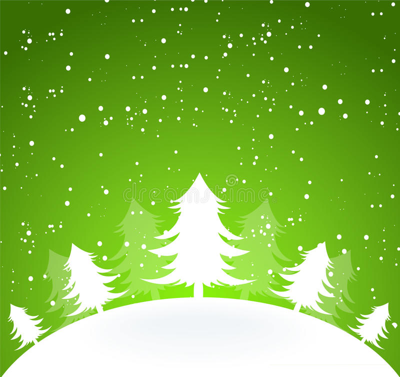 Download Xmas tree stock vector. Illustration of celebration, cold - 22766160