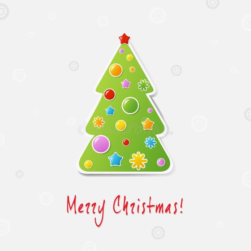 Download Xmas Tree Design Card Royalty Free Stock Photo - Image: 27646285