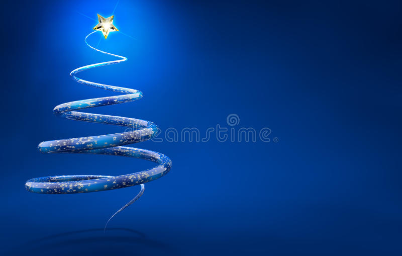 Xmas tree royalty free illustration