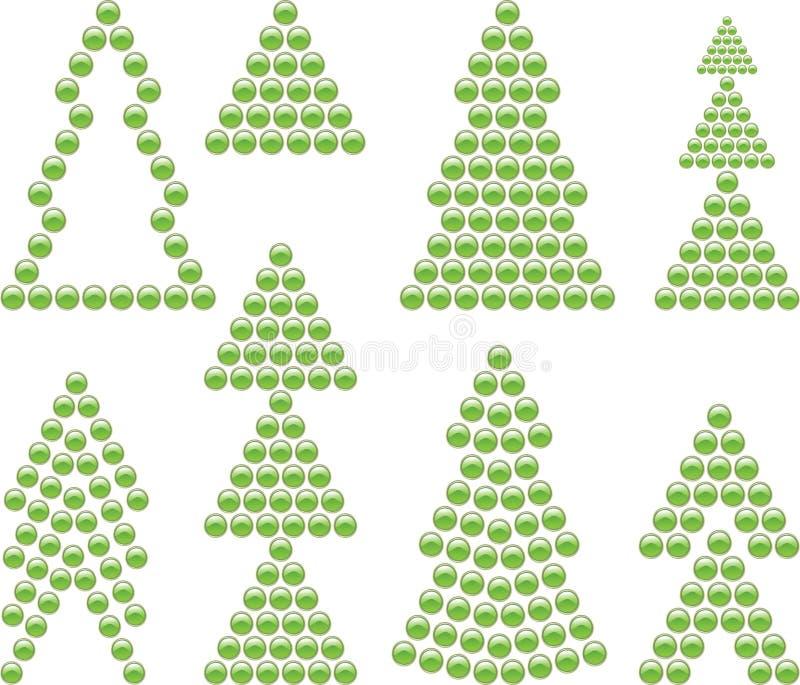 Xmas Tree Symbols Stock Vector Illustration Of Ornament 7693787