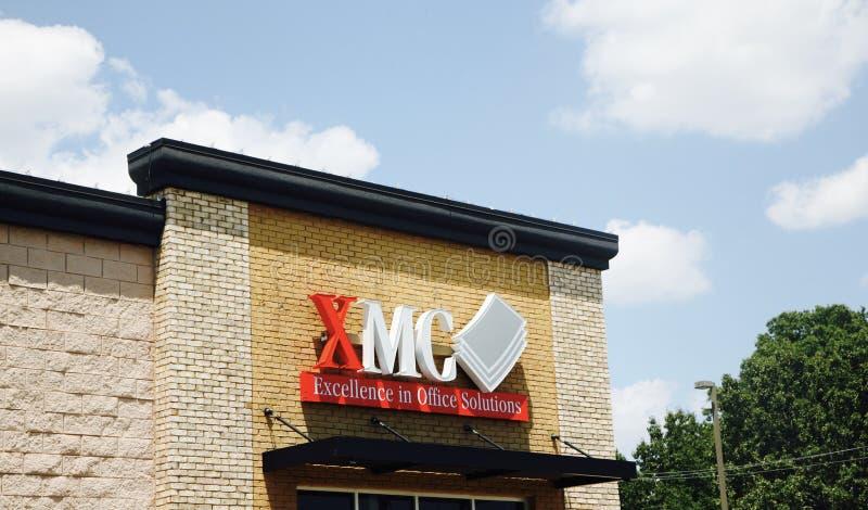 XMC soluzioni dell'ufficio, Jackson TN fotografia stock libera da diritti