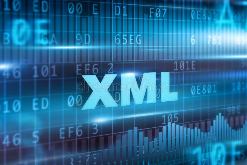 XML概念 皇族释放例证