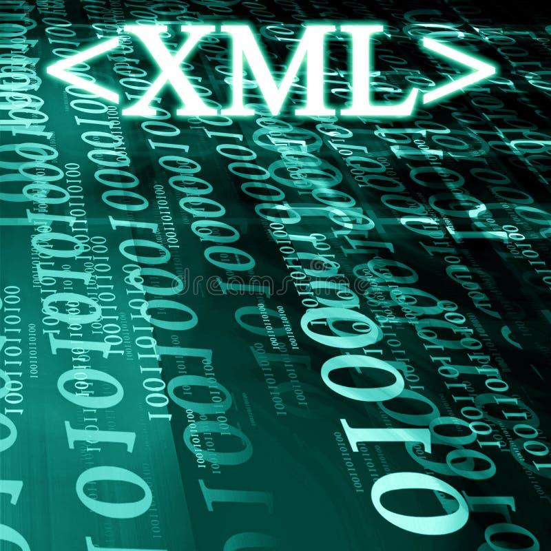 Xml stock de ilustración