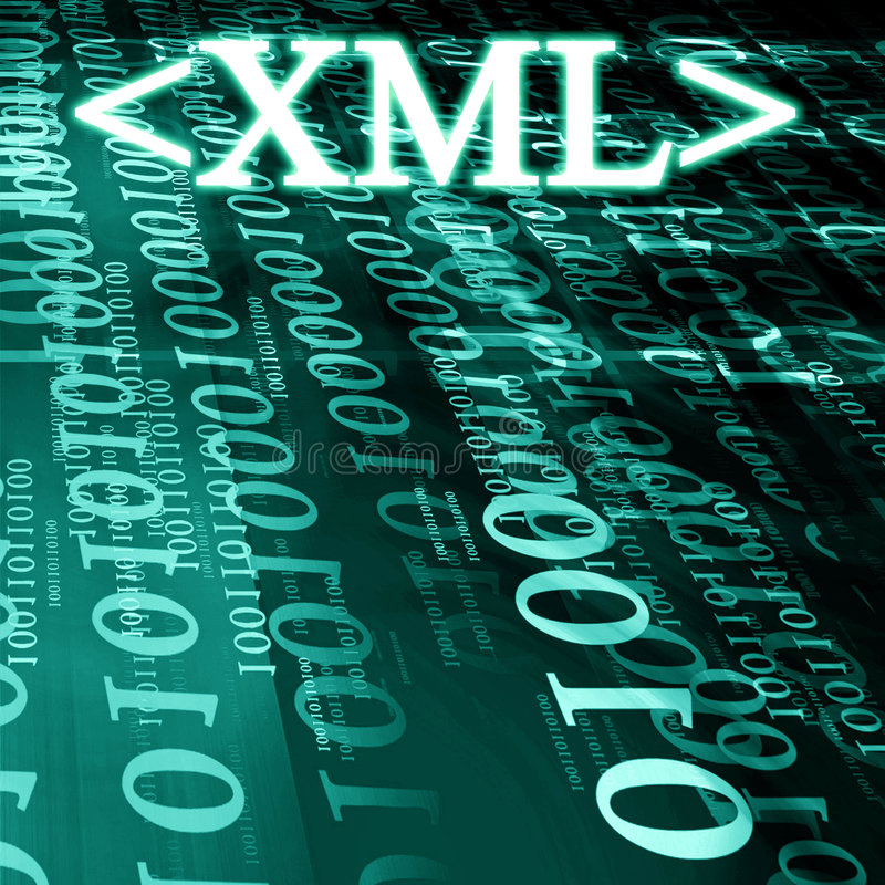 Xml stock illustratie
