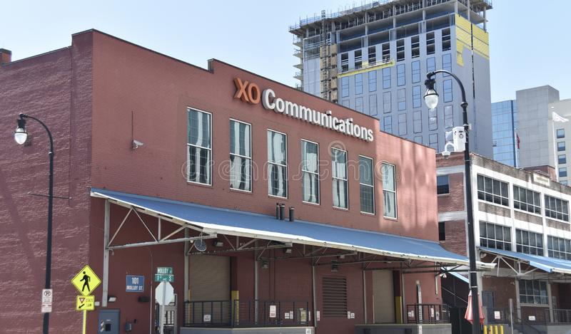 XO Communications, Nashville, TN. XO Communications is one of the world s largest, publicly held telecommunications companies. The company provides Web hosting royalty free stock photography