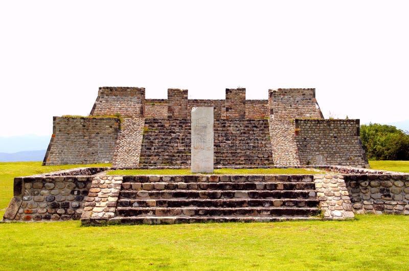Xochicalco I lizenzfreie stockbilder