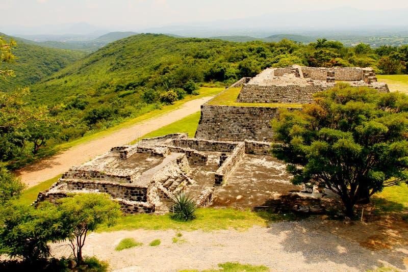 Xochicalco IV stockfotografie
