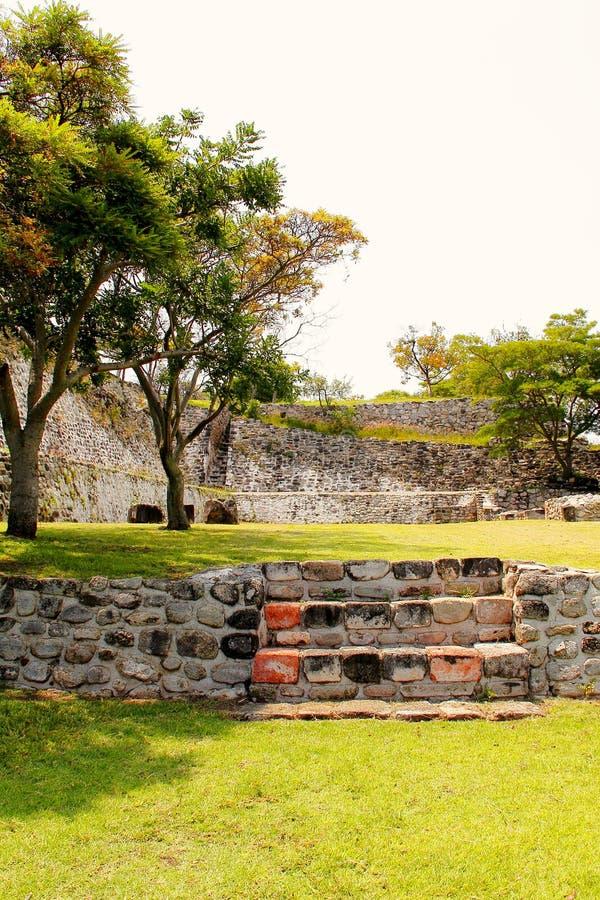 Xochicalco VII lizenzfreies stockfoto