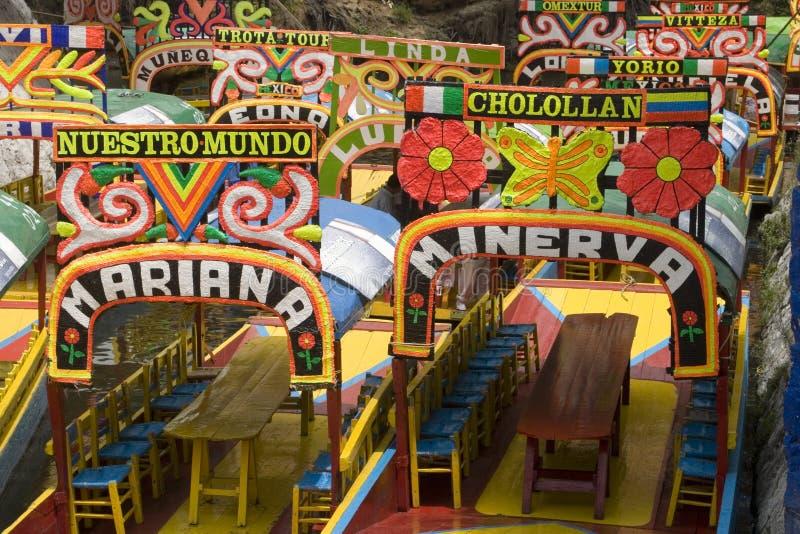 Xochimilco stockfotos