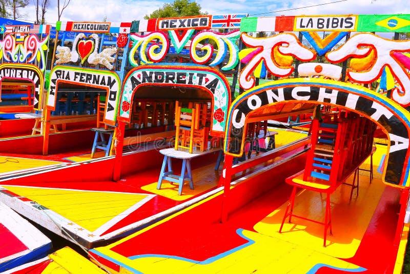 Xochimilco I photo libre de droits