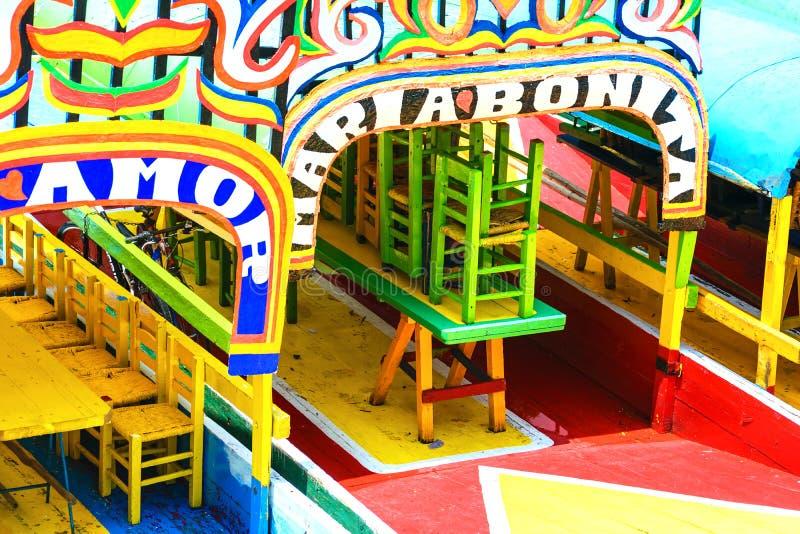 Xochimilco, Mexiko City lizenzfreies stockfoto