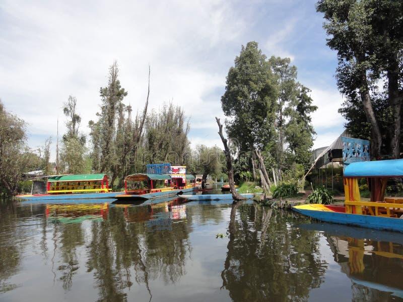 Xochimilco - Venise Mexicana - México imagens de stock royalty free