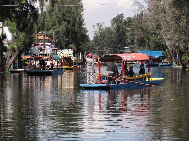 Xochimilco - Venise Mexicana - Mexico stock fotografie