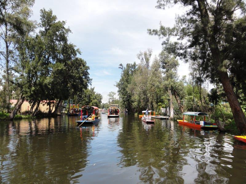 Xochimilco - Venise Mexicana - Mexico royalty-vrije stock afbeeldingen