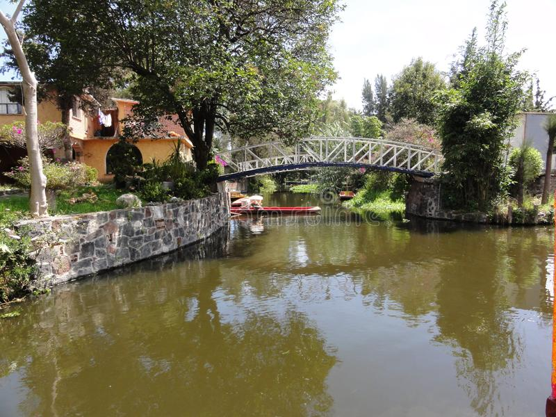 Xochimilco - Venise Mexicana - Mexico stock foto's