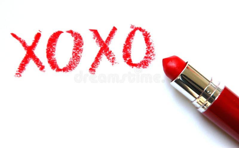 XOXO: Abraza y los besos imágenes de archivo libres de regalías