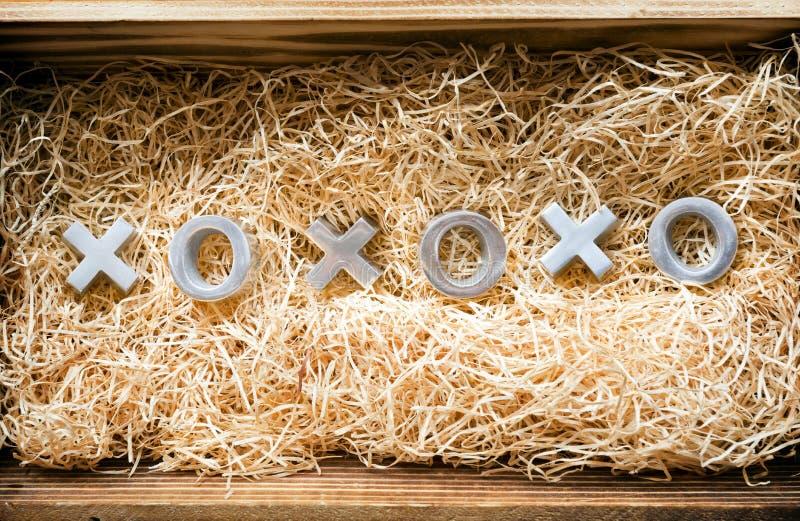 XOXO-Umarmungen und -küsse stockbild