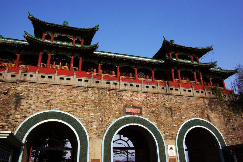 xuan wu gate royalty free stock photo