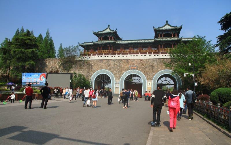 Xuanwu Gate, Nanjing, China stock photos
