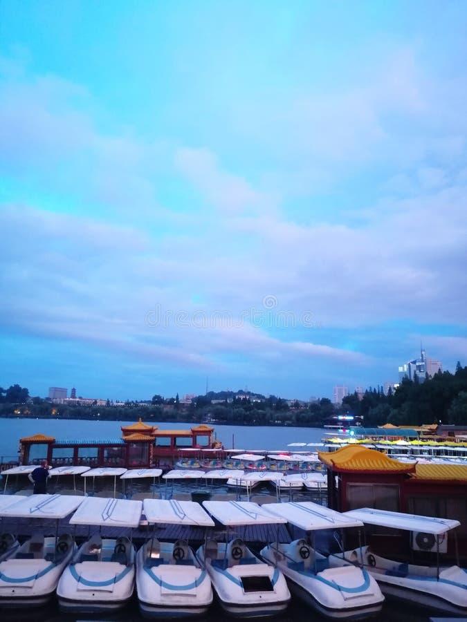 Xuanwu jezioro zdjęcia stock