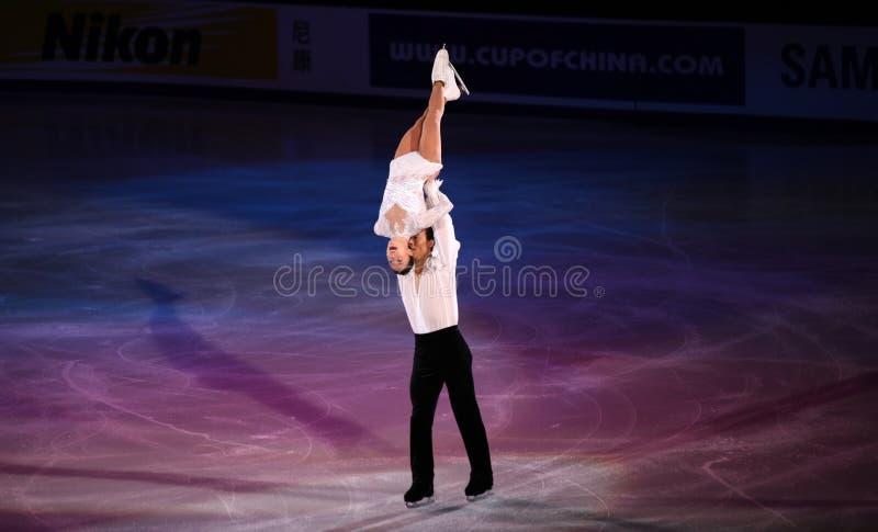 Xue Shen und Hongbo Zhao (CHN) lizenzfreie stockbilder