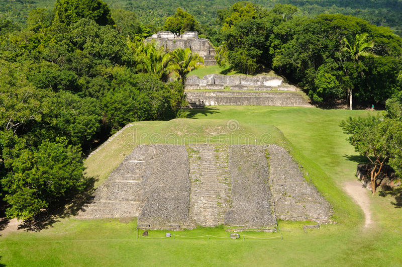 Download Xunantunich Belize Mayan Temple Stock Image - Image: 23021689