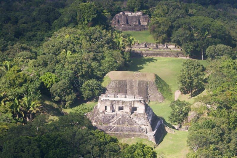 Xunantunich, ruines de Maya photo stock