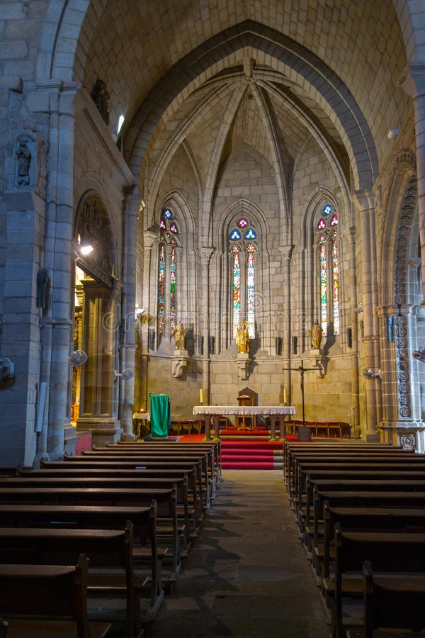 XV宫殿在普拉森西亚(西班牙 库存照片