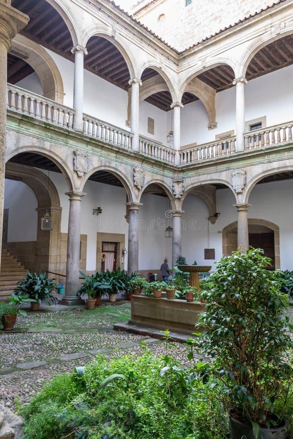 XV paleis in Plasencia (Spanje stock foto