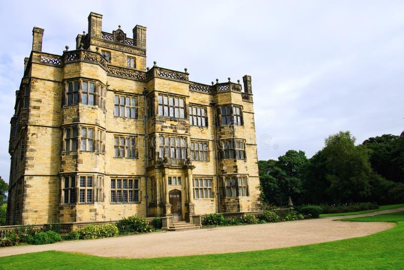 xvii wiek Gawthorpe Hall fotografia royalty free