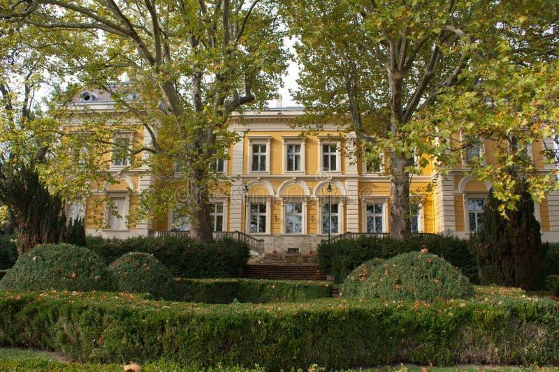 Eclectic Karolyi Palace, Fuzerradvany royalty free stock photo