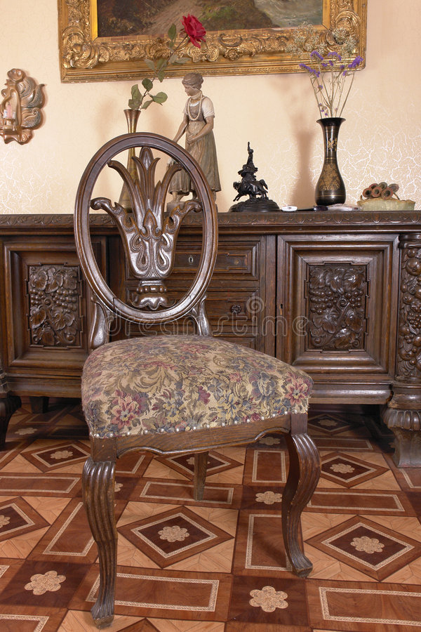 Download XVIII Century Suite Of Furniture Stock Image - Image: 4436091