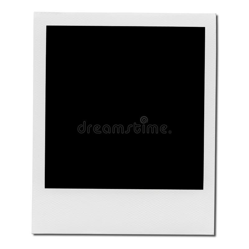 Xxl Blank Polaroid Photo Frame Stock Photo Image Of