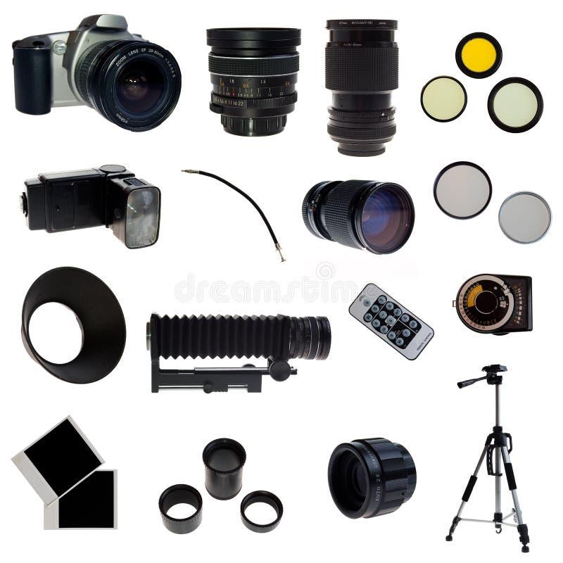 xxl för set för utrustning för 16 element fotografisk royaltyfria foton