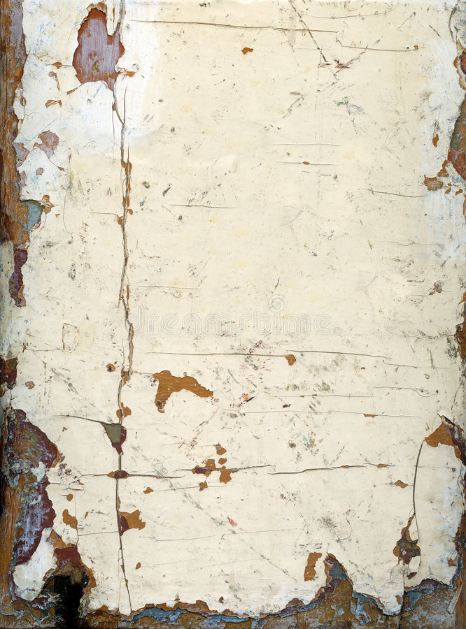 XXL Grungy Painted Wood stock image
