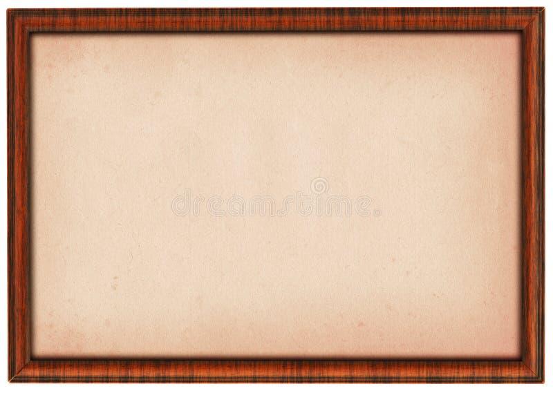 XXL size wooden frame stock illustration