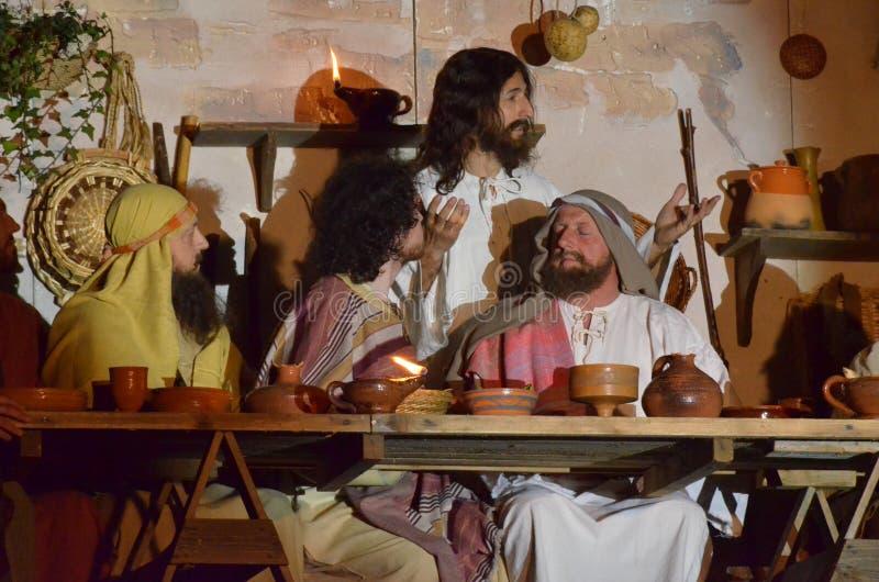 Download XXVIII Edizione Antignano Via Crucis Fotografia Editoriale - Immagine di pasqua, teatro: 57597611