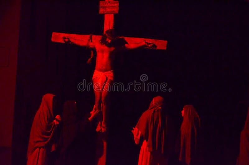 Download XXVIII Edizione Antignano Via Crucis Fotografia Editoriale - Immagine: 57610867